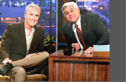 Michael Jann with Jay Leno